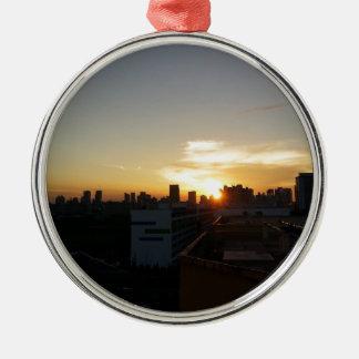 Beautiful Sunset Premium Ornaments