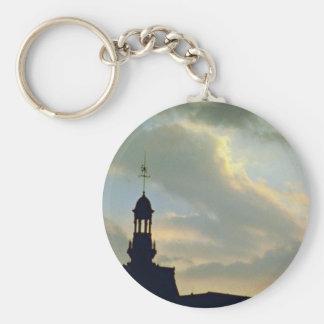 Beautiful Sunset: Red sky on Place De La Concorde, Key Chains