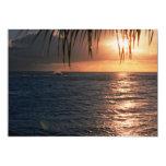 Beautiful Sunset: Rocky Point, Oahu, Hawaii Custom Invite