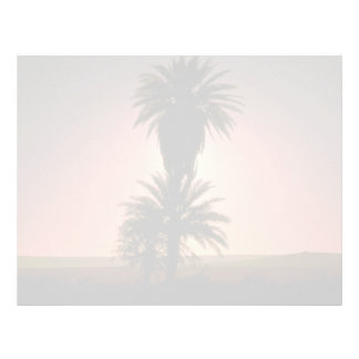Beautiful Sunset: Sahara Desert, Algeria Letterhead