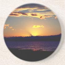 Beautiful Sunset Sandstone Coaster