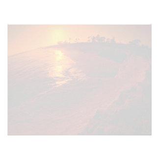 Beautiful Sunset: Santa Barbara, California Letterhead