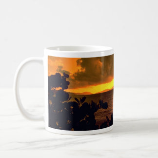 Beautiful Sunset: Sebastian's, Virgin Gorda, Briti Classic White Coffee Mug