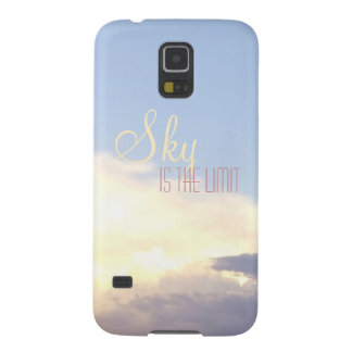 Beautiful sunset sky yellow clouds galaxy S5 Case For Galaxy S5