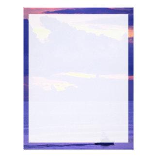 Beautiful Sunset: Sunset, Bermuda Letterhead