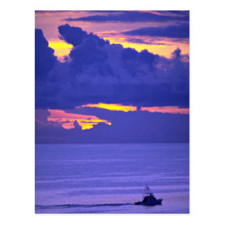 Beautiful Sunset: Sunset, Bermuda Postcard