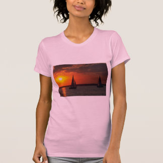 Beautiful Sunset: Sunset Sailers Tees