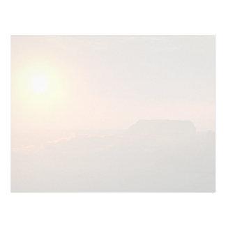 Beautiful Sunset: Surrimpose with the sun, Quasr-E Letterhead