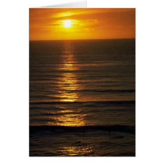 Beautiful Sunset: Swami's Encintas, California Cards