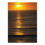 Beautiful Sunset: Swami's Encintas, California Custom Announcement