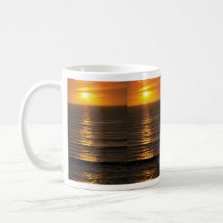 Beautiful Sunset: Swami's Encintas, California Coffee Mug