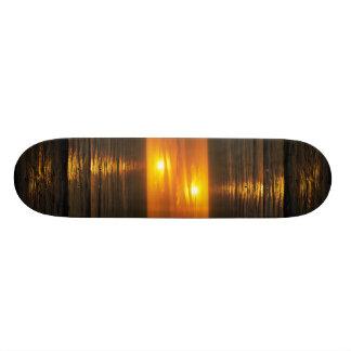 Beautiful Sunset: Swami's Encintas, California Skate Board Decks
