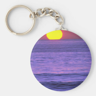 Beautiful Sunset: Table Top Reef, Solana Beach, Ca Keychains
