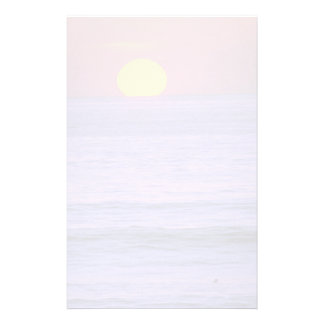 Beautiful Sunset: Table Top Reef, Solana Beach, Ca Personalized Stationery