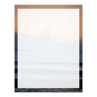 Beautiful Sunset: Virginia Beach, Virginia Letterhead