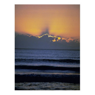 Beautiful Sunset: Virginia Beach, Virginia Postcard