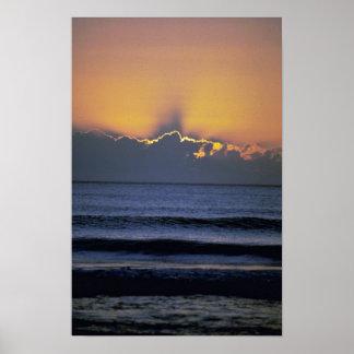 Beautiful Sunset Virginia Beach Virginia Print