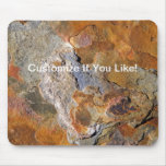 Beautiful Surface Rich Hues Rock Abstract Mouse Pad