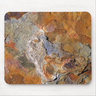 Beautiful Surface Rich Hues Rock Abstract Mouse Pads