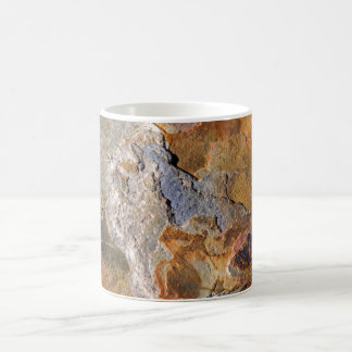 Beautiful Surface Rich Hues Rock Abstract Mug