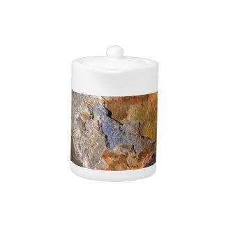 Beautiful Surface Rich Hues Rock Abstract