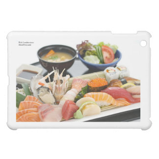 Beautiful Sushi (Mix) Plate Gifts Cards Etc Cover For The iPad Mini