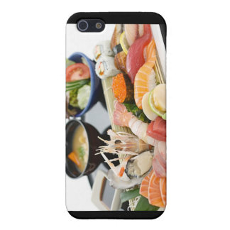 Beautiful Sushi (Mix) Plate Gifts Cards Etc Case For iPhone 5