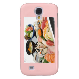 Beautiful Sushi (Mix) Plate Gifts Cards Etc Samsung S4 Case