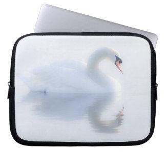 Beautiful Swan Laptop Sleeve