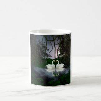 Beautiful swans 1 coffee mug