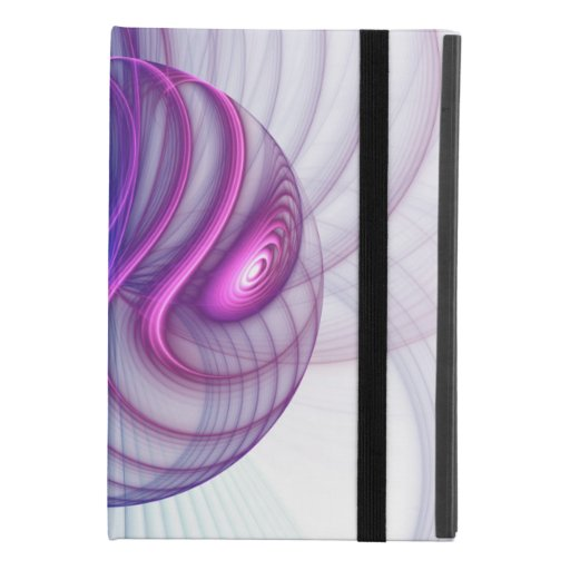 Beautiful Swing Modern Abstract Fractal Art Pink iPad Mini 4 Case