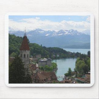 Beautiful Swiss Landscape Mouse Pad