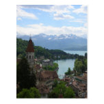 Beautiful Swiss Landscape Postcard