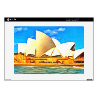 "Beautiful Sydney Opera House Decal For 15"" Laptop"