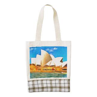 Beautiful Sydney Opera House Zazzle HEART Tote Bag