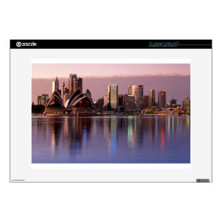 "Beautiful Sydney Skyline Decal For 15"" Laptop"