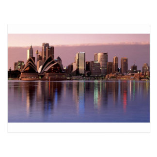 Beautiful Sydney Skyline Postcard