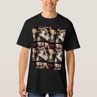 Beautiful t-shirt with cow print