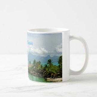 Beautiful Tahiti Classic White Coffee Mug