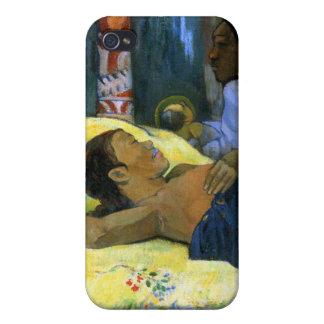 Beautiful tahitian woman Gauguin painting Nativity Cover For iPhone 4