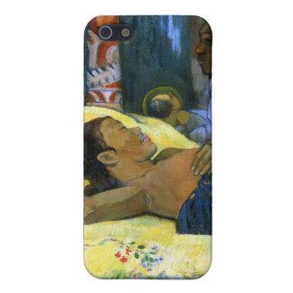 Beautiful tahitian woman Gauguin painting Nativity iPhone 5 Covers