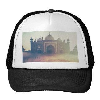 Beautiful Taj Mahal in a foggy day Trucker Hat