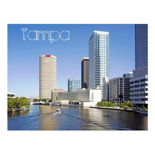 Beautiful Tampa, Florida Postcard