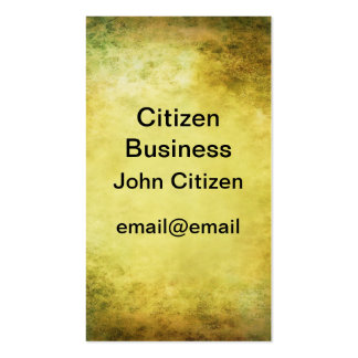Beautiful tan leather look textured business card