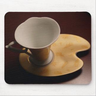 Beautiful Tea Cup & Saucer Mouse Pad