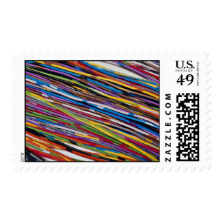 Beautiful Telephone wire Postage Stamp