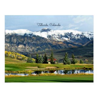 Beautiful Telluride, Colorado Landscape Postcard