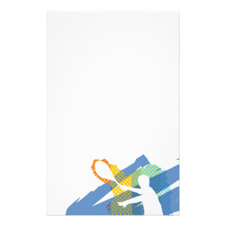 Beautiful Tennis Stationary / Letterhead Stationery