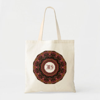 Beautiful Textured Frame Mandala Tote Bag