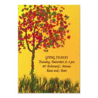 BEAUTIFUL THANKSGIVING DAY INVITATION
